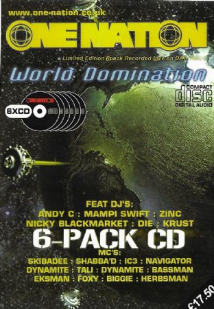 One Nation - World Domination - CD Pack